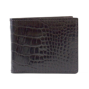 """The Alistair"" Genuine Alligator BiFold Wallet"