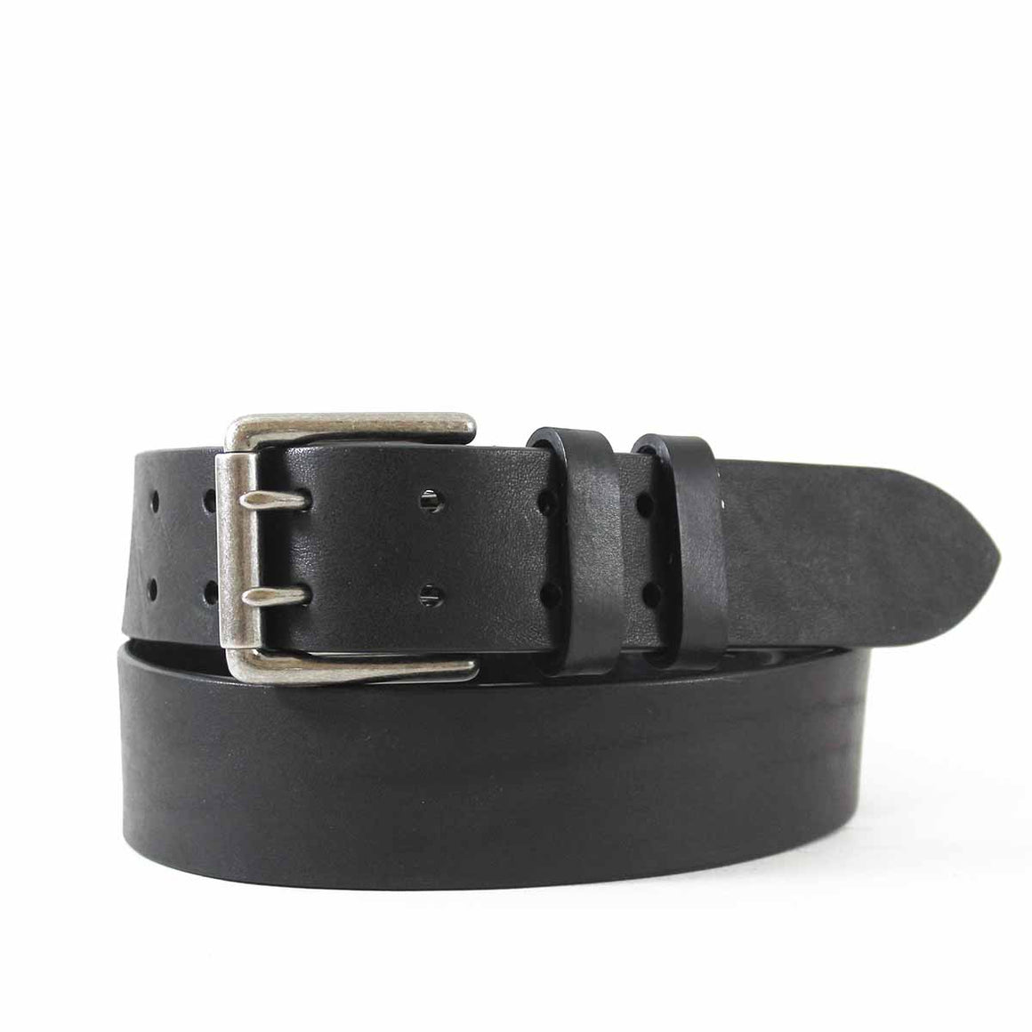 Two-Hole Leather Jean Belt