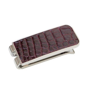 Genuine Alligator Money Clip
