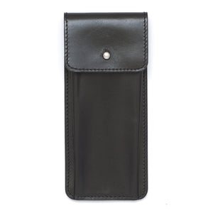 Genuine Leather Watch Travel Case