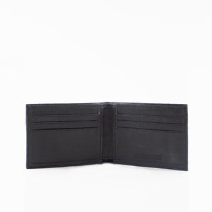 Saddle Distressed Leather Wallet