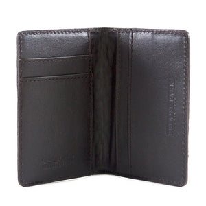 Black Alligator Embossed BiFold Card Case