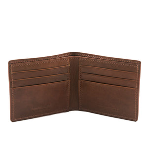 Vintage-Feel Leather Wallet