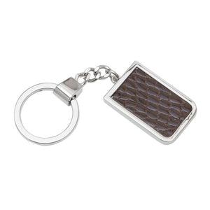 Genuine Alligator Key Ring