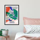 Abstract leaf | Alana Macleod Limited Edition Wall Art Print