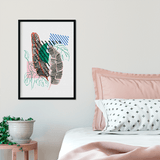 Geo garden | Alana Macleod Limited Edition Wall Art Print