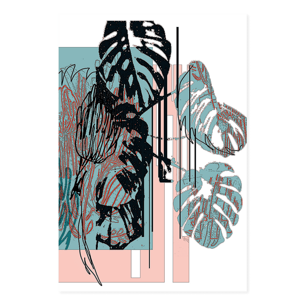 Monstera V2 | Alana Macleod Limited Edition Wall Art Print
