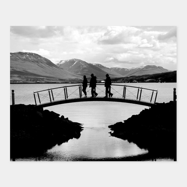Bridge Akureyri | Dave Dutton Limited Edition Wall Art Print