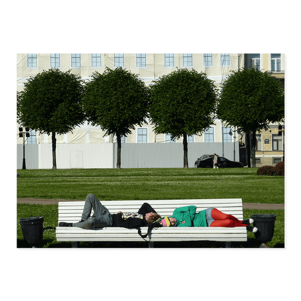 Chillin St Petersburg | Dave Dutton Limited Edition Wall Art Print
