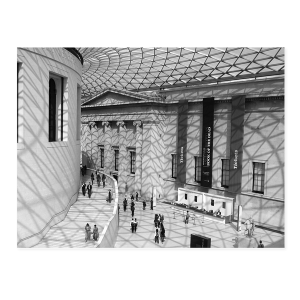 Net of Light. British Museum | Dave Dutton Limited Edition Wall Art Print