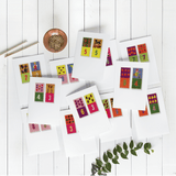 Domino des Chiffres 12pk Greeting Cards | Simone Fowler Limited Edition Art Print