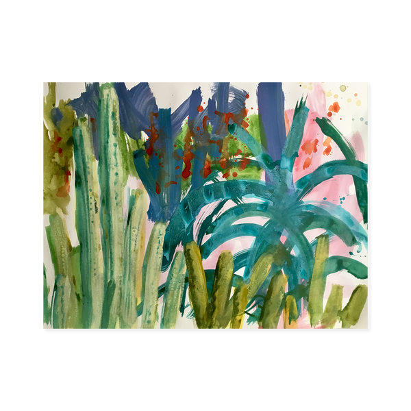Cacti II | Esther Donaldson Limited Edition Wall Art Print