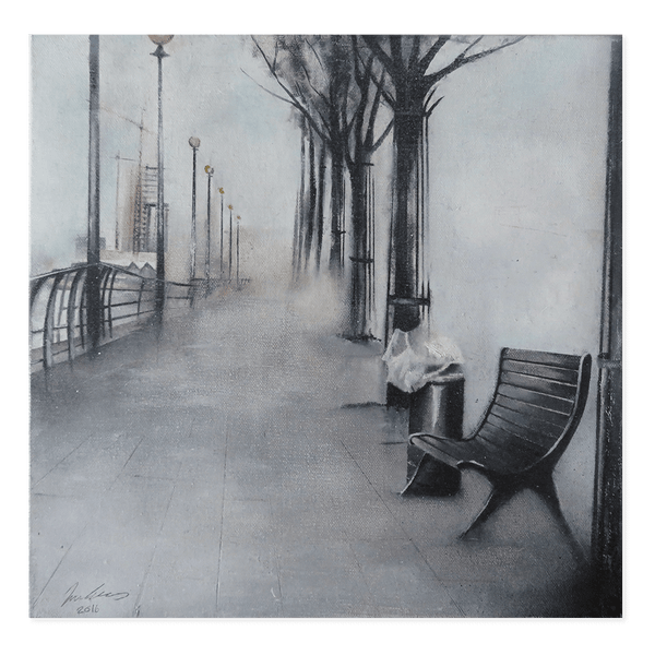 Bench | Iwan Evans Limited Edition Wall Art Print