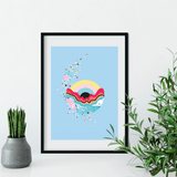 Gravity Looming | Louise Rivett Limited Edition Art Print