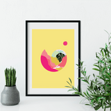 Eternal Suns | Louise Rivett Limited Edition Wall Art Print