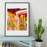 The Garden at 3 | Lucia Jones Limited Edition Wall Art Print