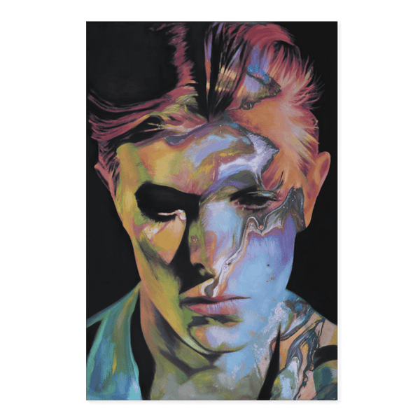 Starman Bowie | Sophie Barrott Limited Edition Wall Art Print