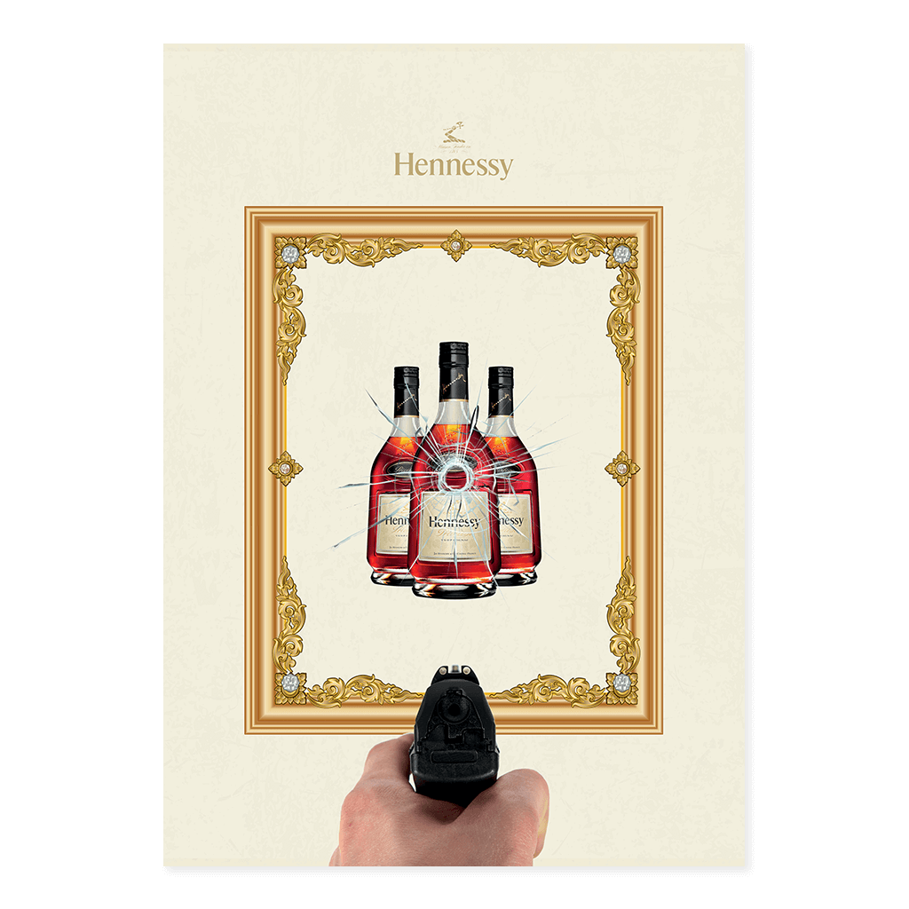 Henny at the Range | Uglybennyco Limited Edition Wall Art Print