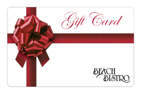 Beach Bistro Gift Certificate