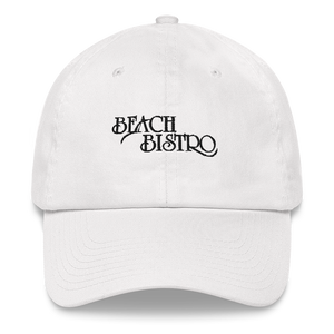 Classic Beach Bistro Cap - Black Embroidery