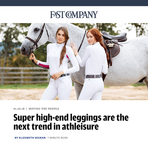 Fast Company features FxR as the next trend in Athleisure