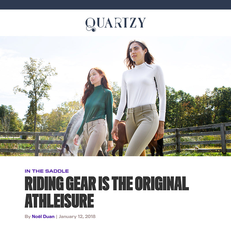 Quartzy on the heritage of equestrian apparel and how FxR is changing the game
