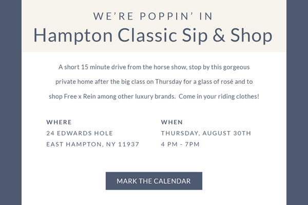 We're Poppin' In. Hamptons Sip & Shop