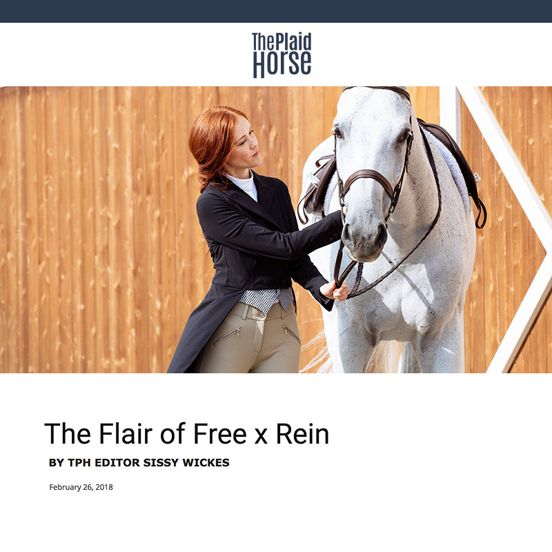 The Plaid Horse Describes Free x Rein as the Best New Clothing Company on the Horse Show Scene