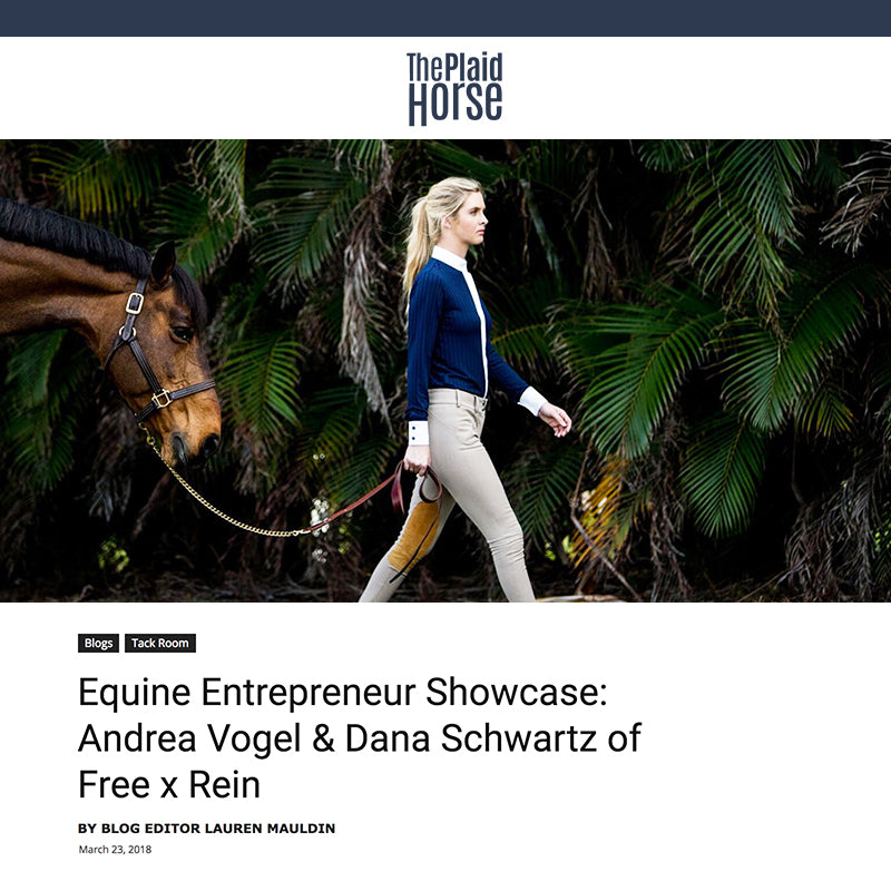 The Plaid Horse Talks About Free x Rein at the Equine Entrepreneur Showcase