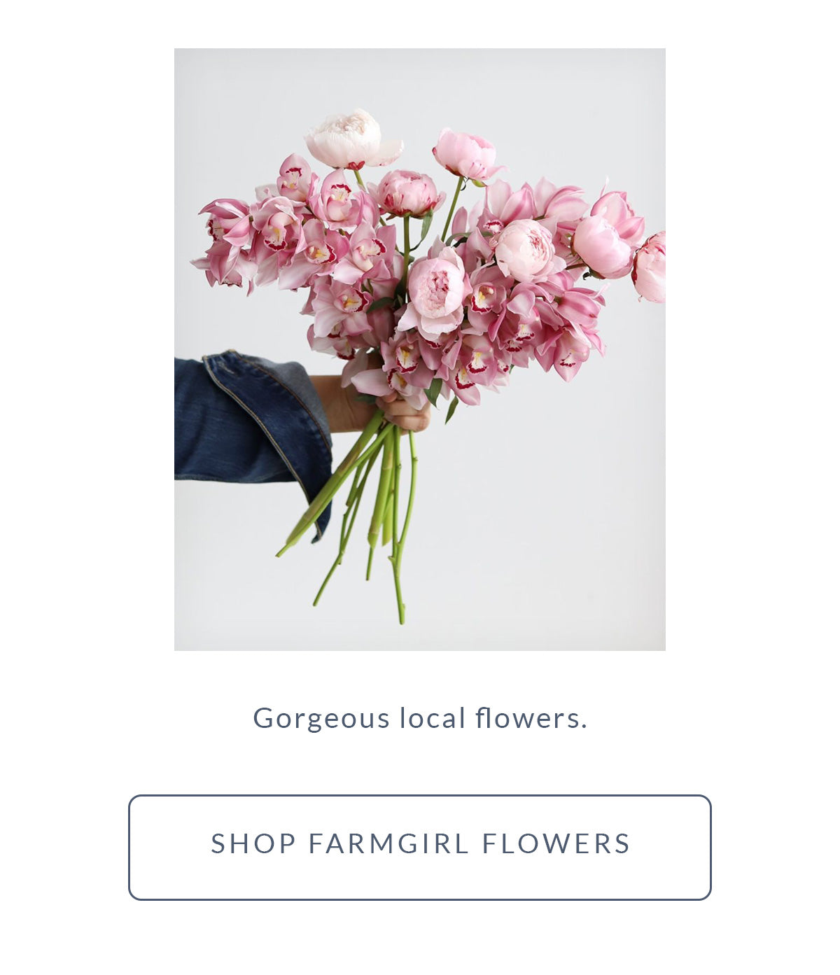 Free x Rein Gift Guide - Local Flowers