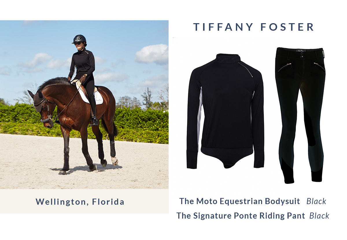 Tiffany Foster | Equestrian Style | Riding Pants | Riding Top
