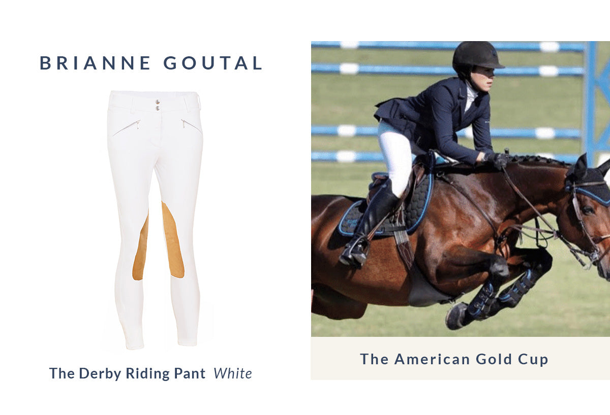 Brianne Goutal | White Riding Pants