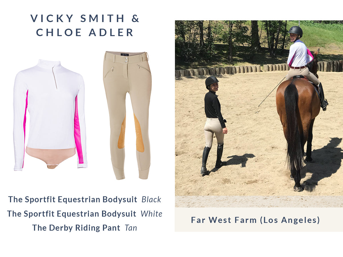 Vicky Smith and Chloe Adler's Equestrian Style