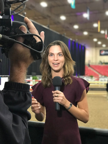 Catie Staszak reporting in Omaha Nebraska for the FEI World Cup Final in Showjumping