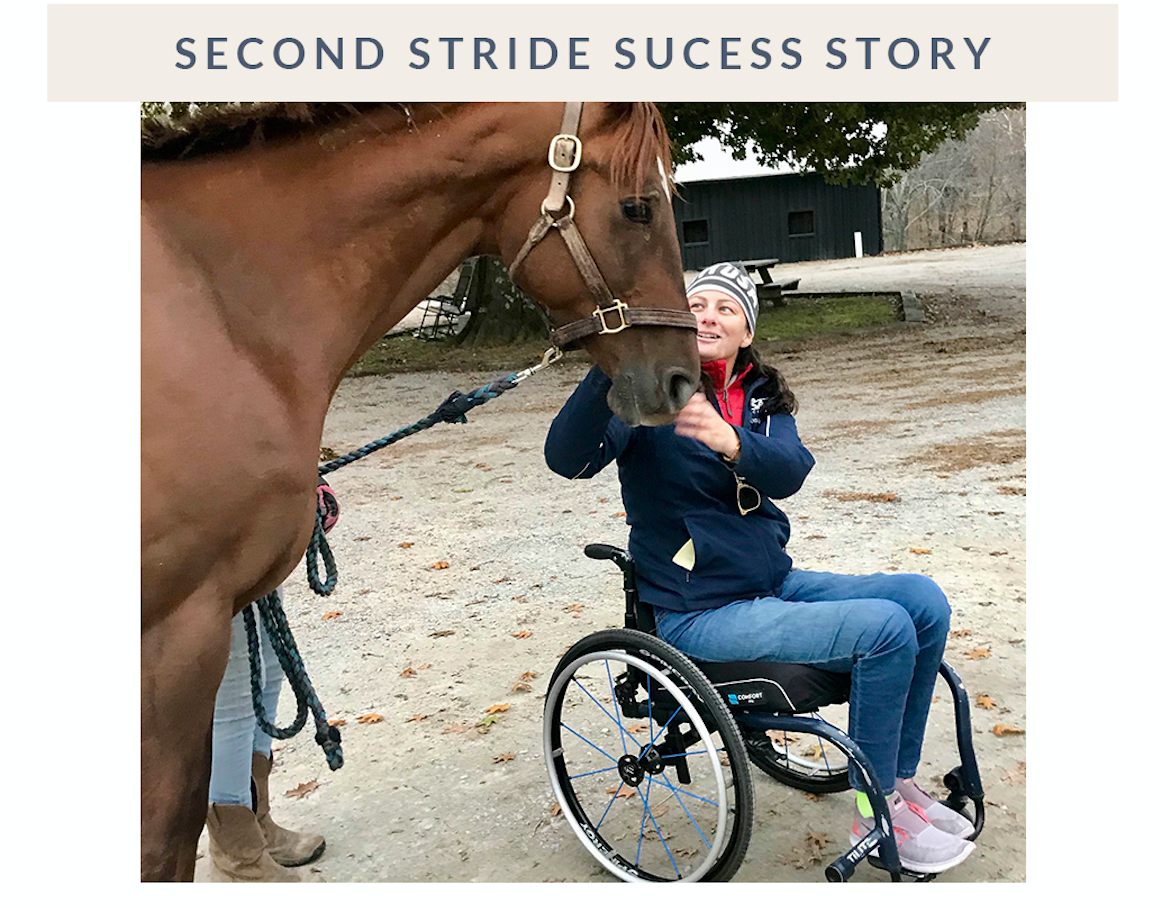 Second Stride Success Story