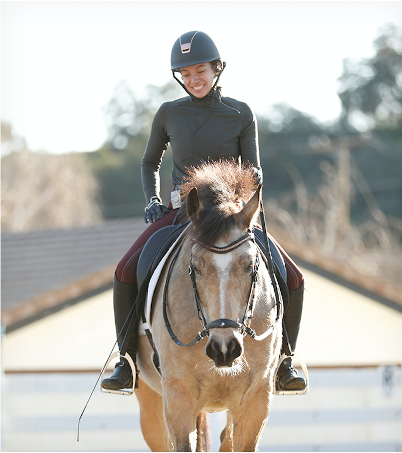 Brittany Sabbah / Why you should ride in an equestrian bodysuit