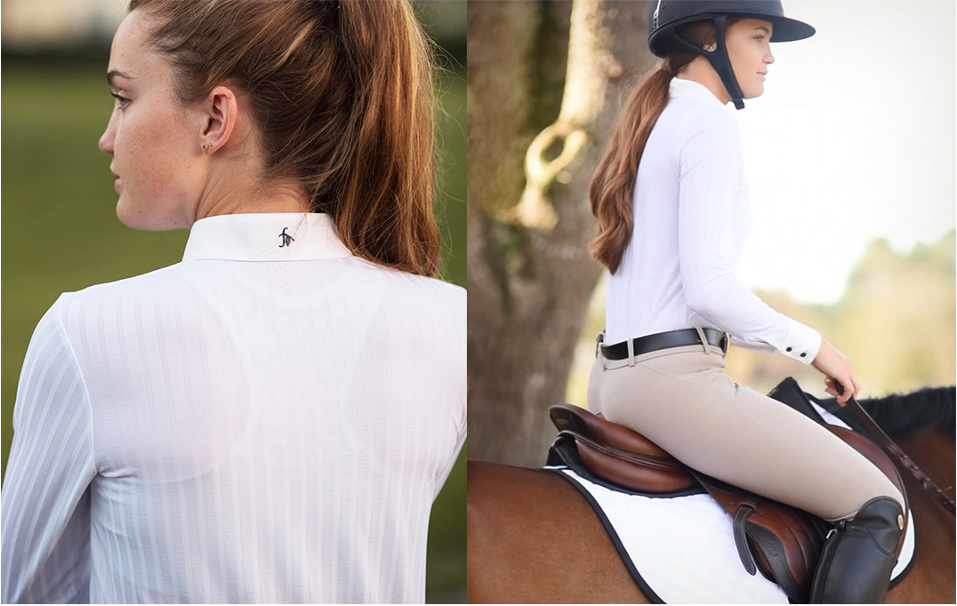 Bethany Lee of My Equestrian Style explains how to ride in an equestrian bodysuit