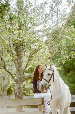 Catie Staszak and her horse Sobrie