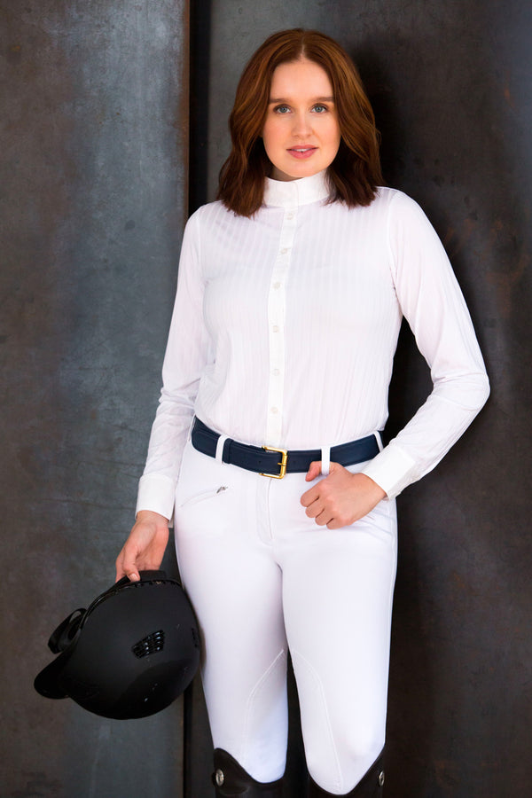 The All White Everything Equestrian Competition Outfit