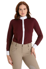 Burgundy - The Elite Equestrian Bodysuit
