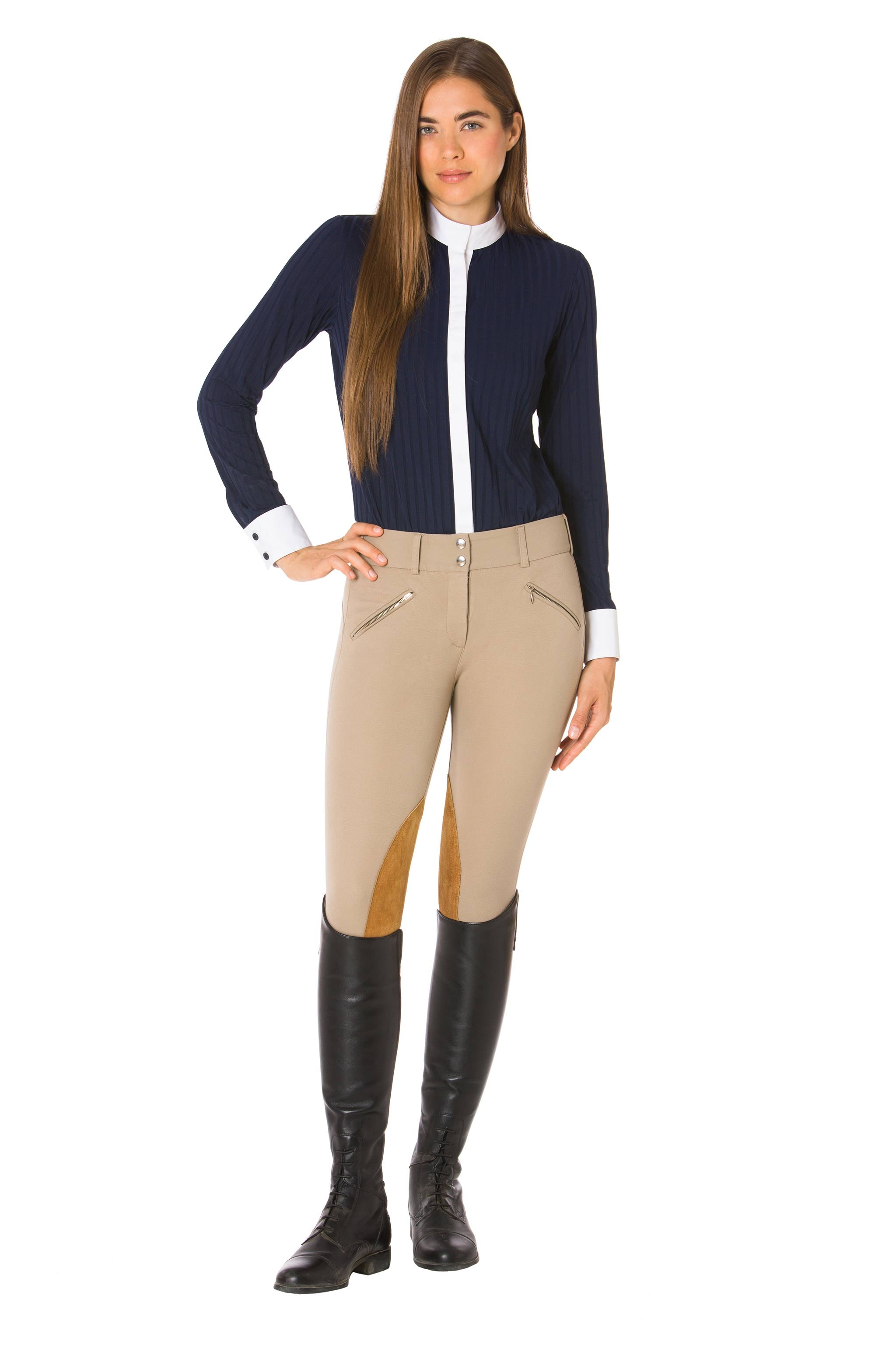 Wellington Tan-The Derby Riding Pant - Free x Rein