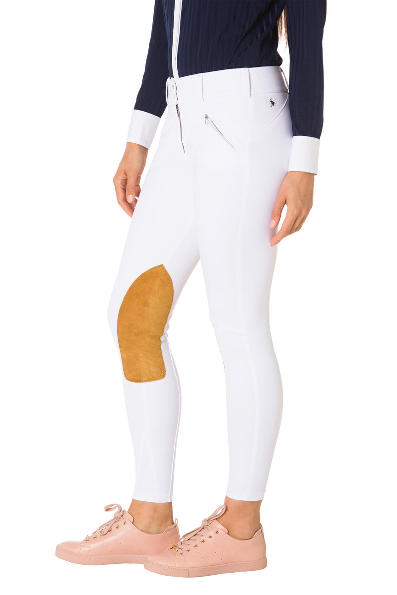 Sunday White-The Derby Riding Pant - Free x Rein