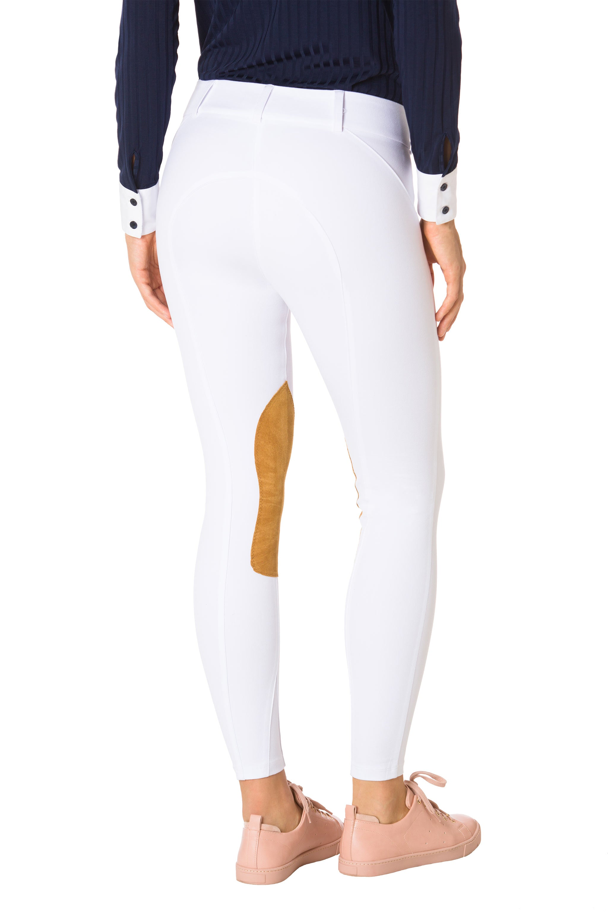 Sunday White-The Derby Riding Pant
