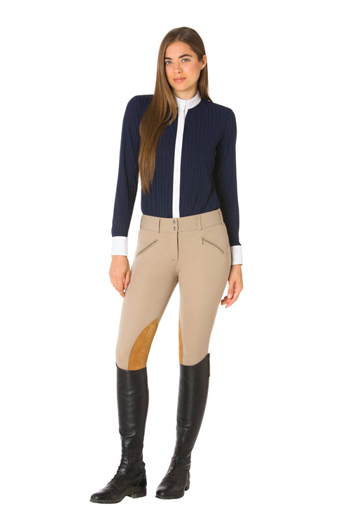 Navy Blue-The Elite Equestrian Bodysuit