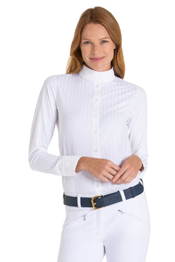White-The Elite Equestrian Bodysuit - Free x Rein