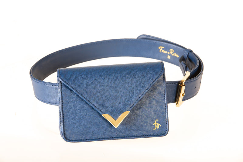 Azure-The Equestrian Clutch - Free x Rein