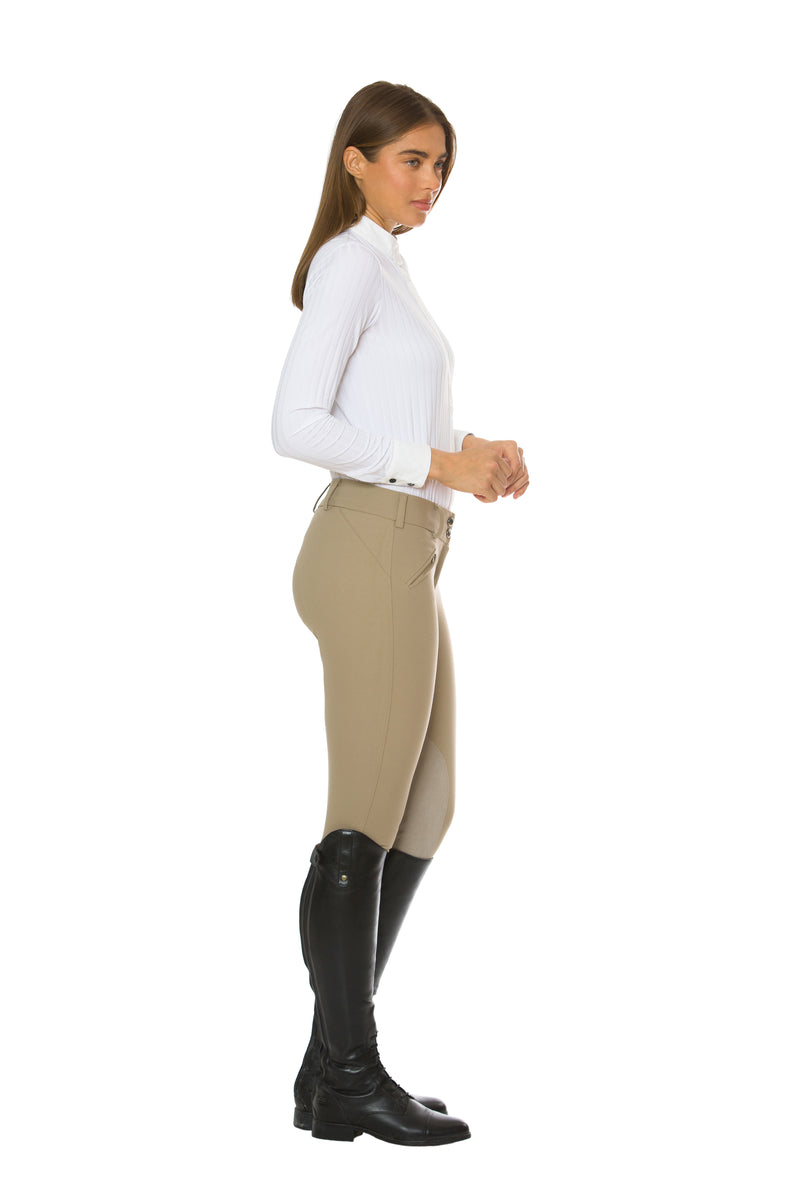 Tan-The Hunt Riding Pant - Free x Rein