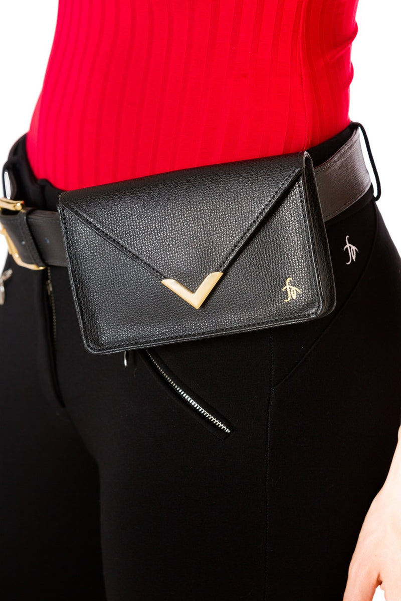 Onyx-The Equestrian Hip Bag - Free x Rein