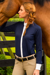 Navy Blue-The Elite Equestrian Bodysuit - Free x Rein