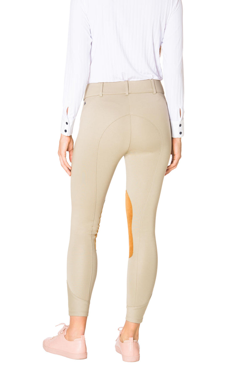 Tan-The Signature Ponte Riding Pant - Free x Rein